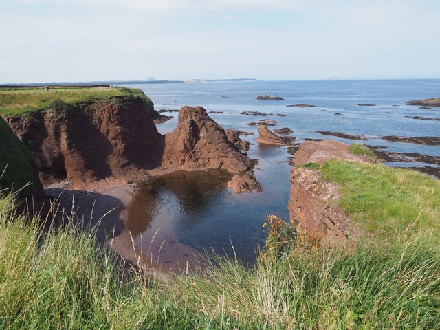 A View from the Promenade in Dunbar