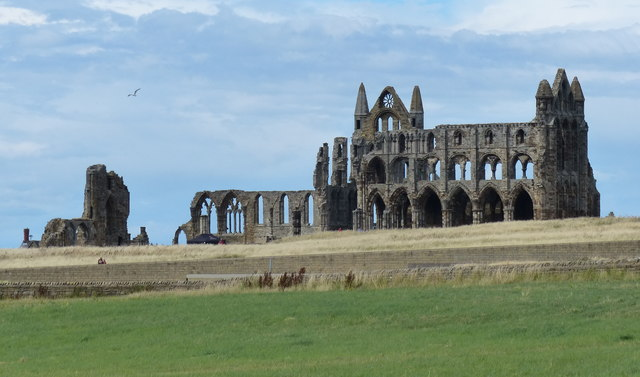 Whitby Abbey viewed from Green Lane
