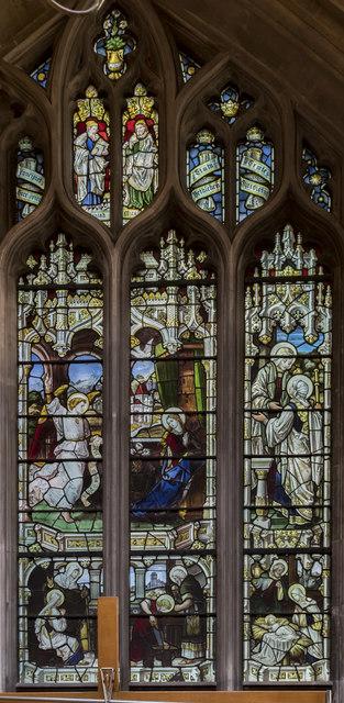 North Transept window, St Mary Redcliffe church, Bristol