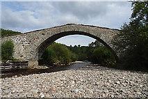 NH8622 : Sluggan Bridge by Anne Burgess