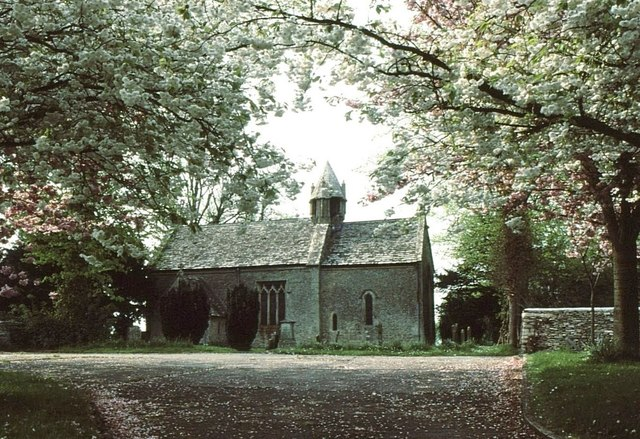 St Mary's Church, Acton Turville, Gloucestershire 1983