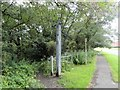 NZ2051 : Footpath into South Stanley Wood by Robert Graham