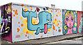 J3374 : Street art, Kent Street, Belfast - September 2019(2) by Albert Bridge