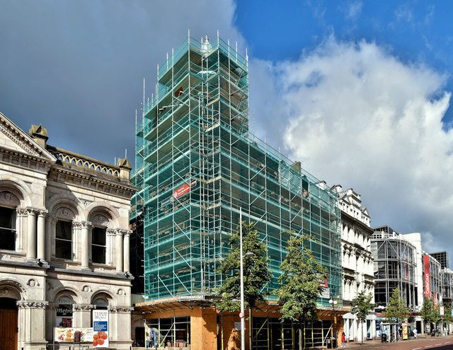 The Ulster Reform Club (renovations), Belfast (September 2019)