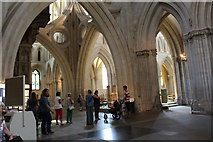 ST5545 : Wells Cathedral  (15) by Chris' Buet