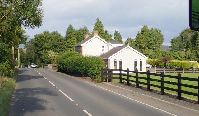 Detached house on the B30 West of Silverbridge