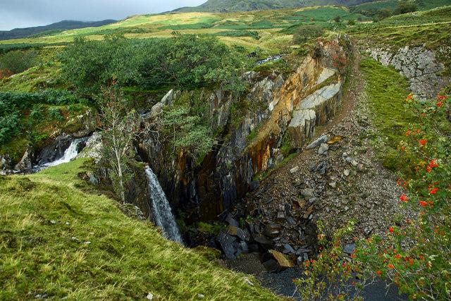 Banishead Waterfall