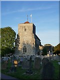 TQ1711 : Steyning: church of St Andrew by Stefan Czapski