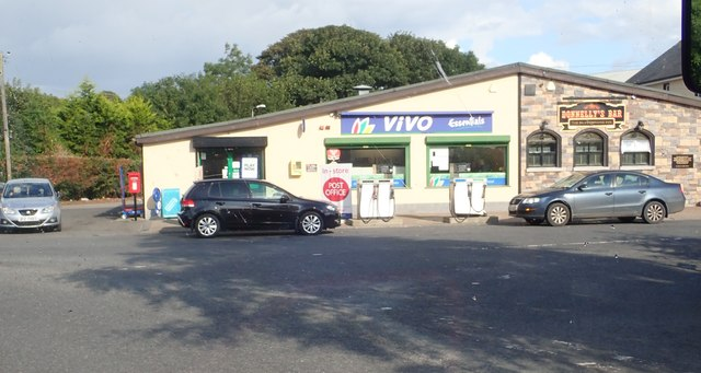 Vivo Essentials Store and Donnelly's Bar at Sillverbridge, South Armagh