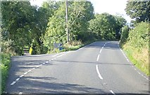 H9618 : The Drumalt Road junction on the Silverbridge Road by Eric Jones