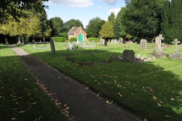 Weedon cemetery