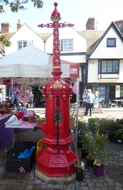 Former water pump in Faversham Market