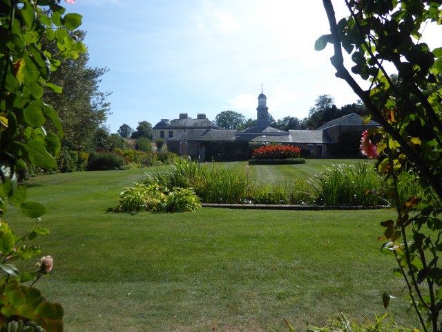 The walled garden at Belmont House