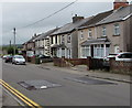 ST1495 : Gelligaer Road speed bumps, Cefn Hengoed by Jaggery