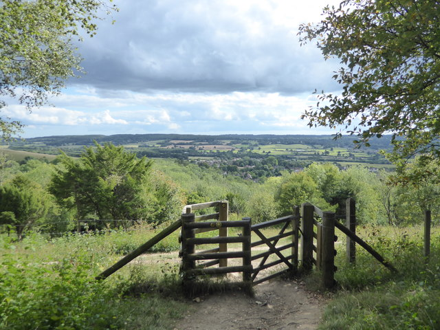 View from the North Downs Way