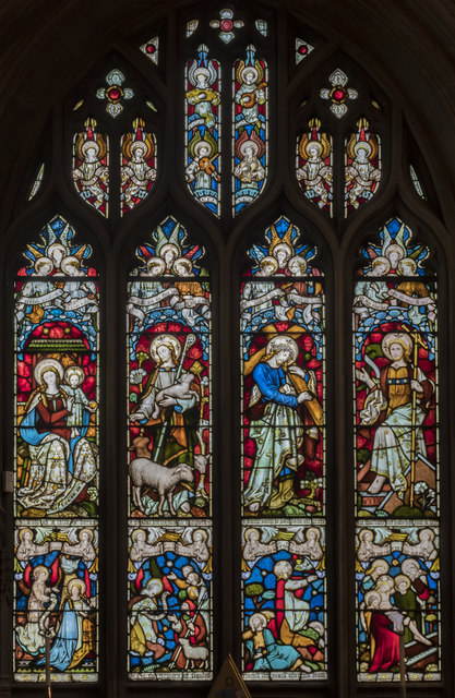 Handel Window, St Mary Redcliffe church, Bristol