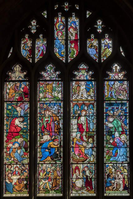 Window s.IV, St Mary Redcliffe church, Bristol