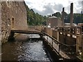 NS8842 : New Lanark Mills - The Lade by Rob Farrow