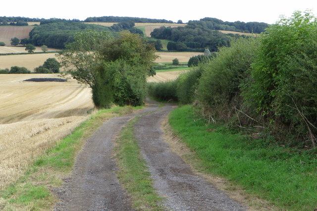 Bridleway to Stowe Wood