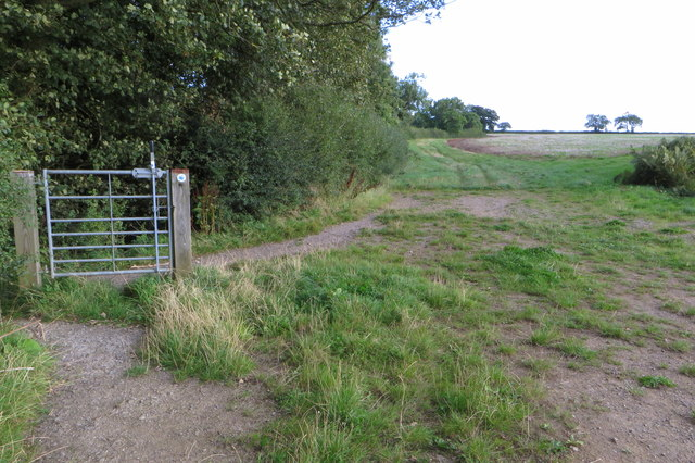 Another pointless gate on the Knightley Way