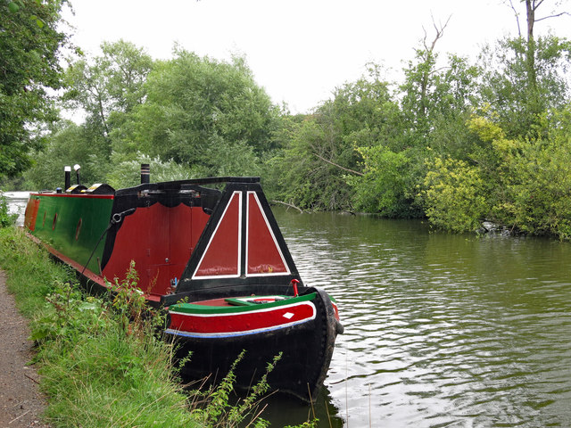The Grand Union Canal southwest of Stocker's Lock (2)