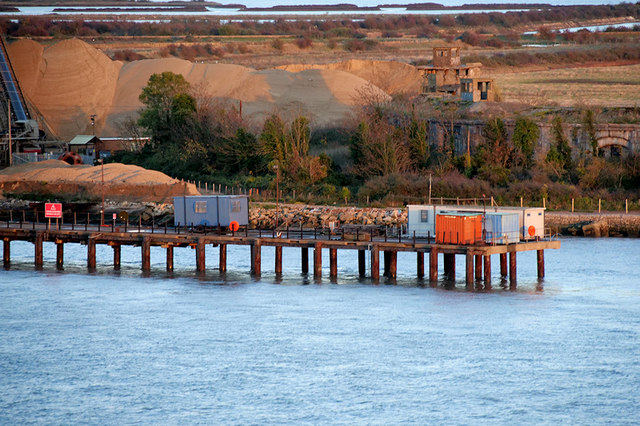 Cliffe Fort Aggregates Jetty