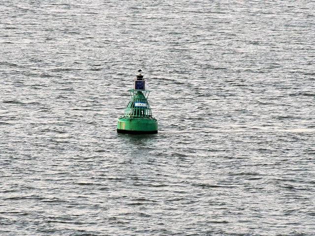 Mucking No 1 Buoy, River Thames