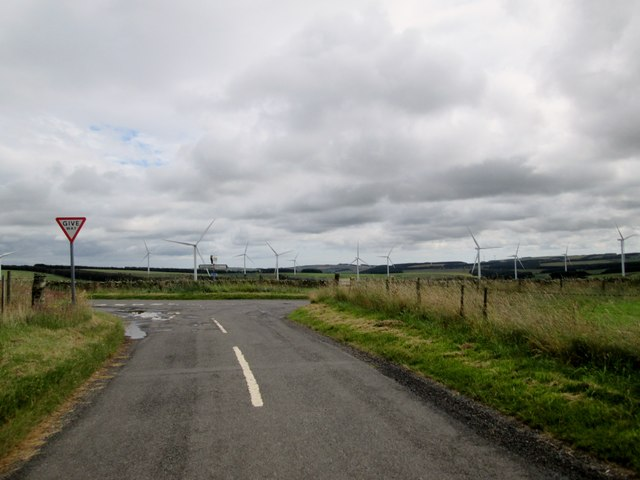 Minor  roads  junction  near  Whiteburn