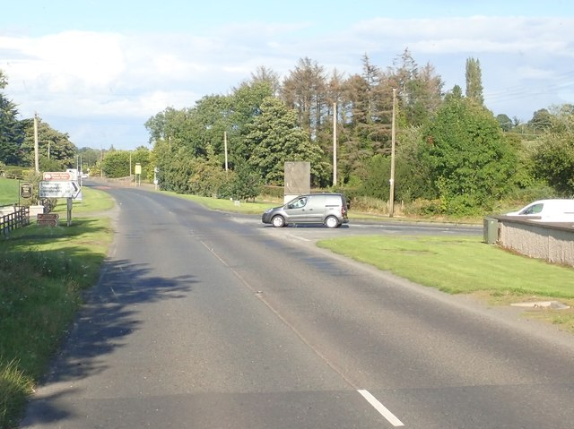 The Newtown Road junction on the A25 by-pass west of Camlough