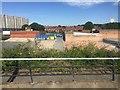 SP0887 : HS2 – partial demolitions, Lawford Close off Vauxhall Road, Birmingham by Robin Stott
