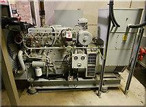 NH6845 : Diesel generator, Raigmore Emergency Bunker by Craig Wallace