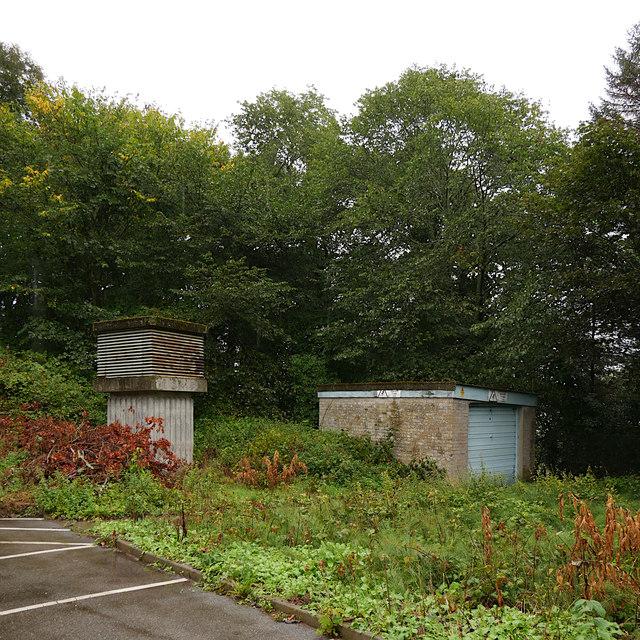 Ventilation shaft, Raigmore Emergency Bunker