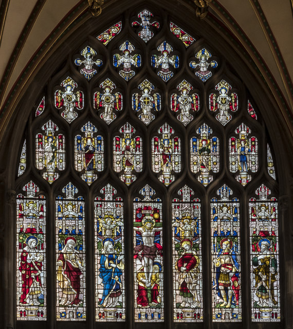 Gable East Window, St Mary Redcliffe church, Bristol