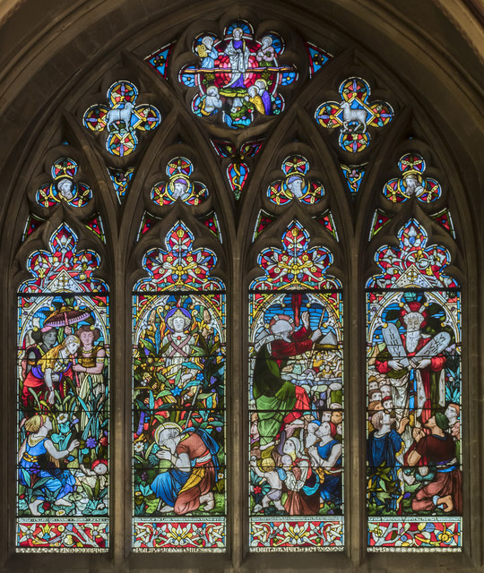 Miles Memorial Window, St Mary Redcliffe church, Bristol
