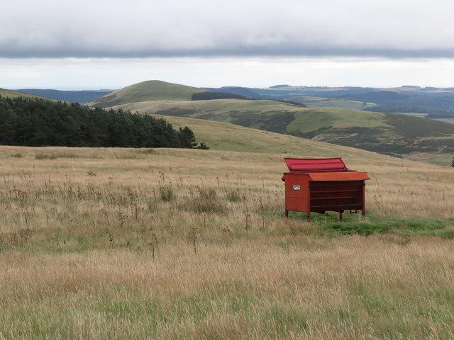 Farm Equipment on Ewe Hill