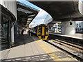 ST3088 : Class 158 dmu, platform 4, Newport station by Jaggery