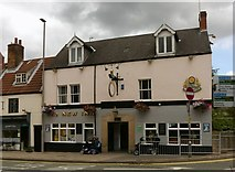 SK5361 : The New Inn, West Gate, Mansfield by Alan Murray-Rust