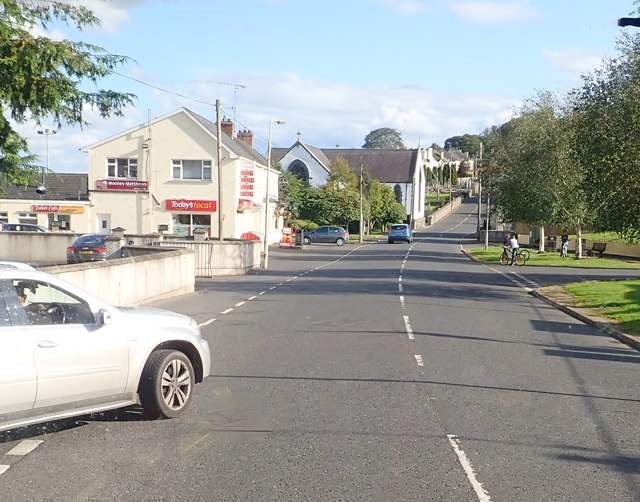 View Southwards along Church Street, Mullaghbawn