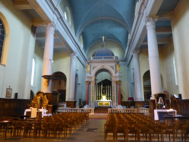 Interior of Our Most Holy Redeemer Church, Clerkenwell