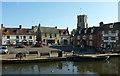 SY9287 : The Quay, Wareham by Derek Harper