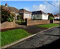 SS8974 : Lon-yr-eglwys bungalows, St Brides Major by Jaggery