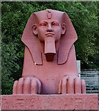 TQ3370 : Crystal Palace Park : sphinx by Julian Osley