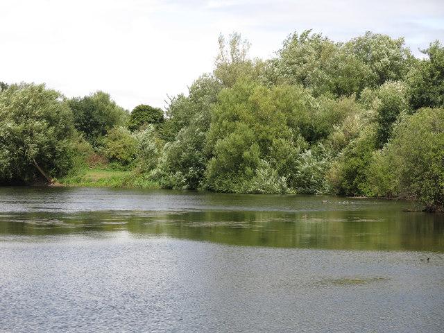 Lake east  of Springwell Lane