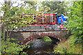 NT0233 : A702 road bridge at Coulter by Jim Barton