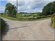 H8920 : The junction of Kiltybane and Mullaghduff Road, Mullaghduff TD by Eric Jones