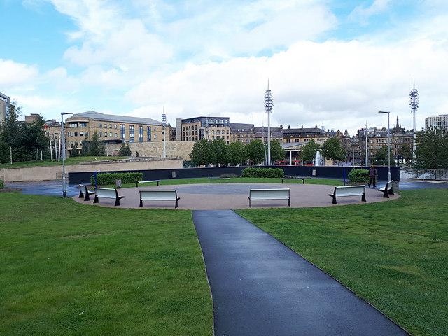 """""""Garden within a Garden"""", City Park, Bradford"""