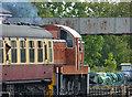 SO8376 : Diesel departure from Kidderminster Town station by Chris Allen
