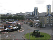 NT2676 : Construction site at Leith by M J Richardson