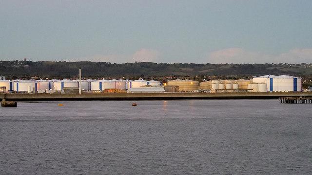Storage Tanks, Canvey Island