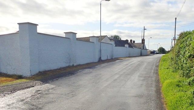 Manog Road on the eastern outskirts of Crossmaglen